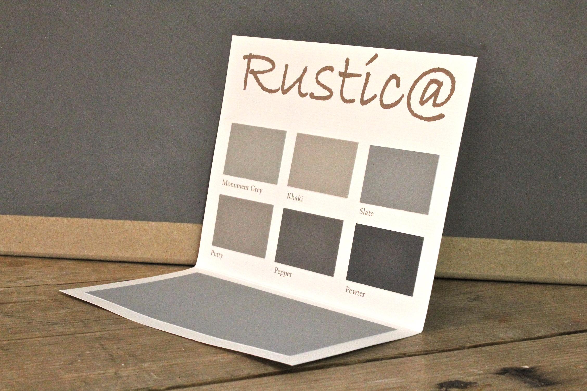 Packhus   color chart   rustica