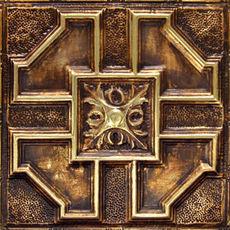 ART SERIE - Gold Burnt Umber