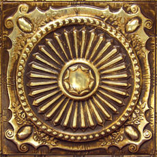ART SERIE - Gold Brushed Bronze
