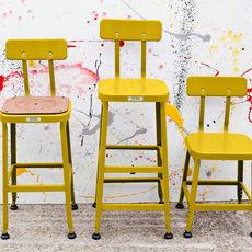 Barstool Americana -  Yellow