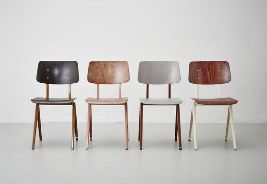 STEEL S16 Chair  Brown Ockre - Ebony