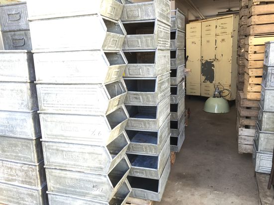 Verkstadslåda Metall - Galvaniserad