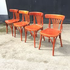 Old Cafechairs - Red