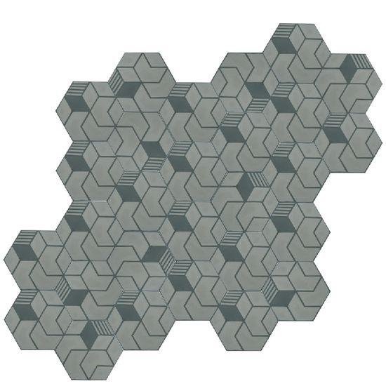 VN Hexagone Meta Steel