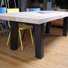 Industrial Table Oblique