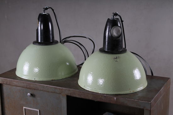 Industrilampa  Sprout  - Ljusgrön