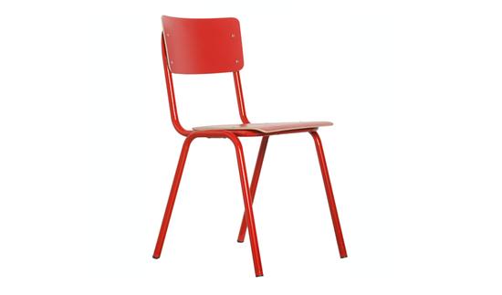 School Stol - Red