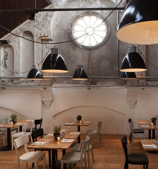 Vintage Industrial Light  - Cafe