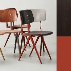 STEEL S16 Chair  Pearl Coppar - Ebony