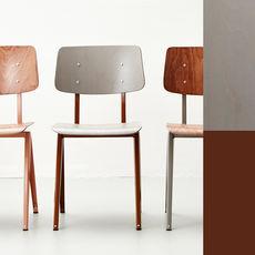 STEEL S16 Chair  Loam Brown - Grey
