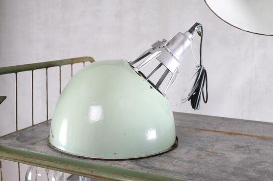 Oblique Industrial Light - light green