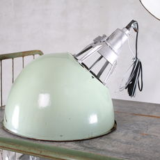 Oblique Industrial Light - light green