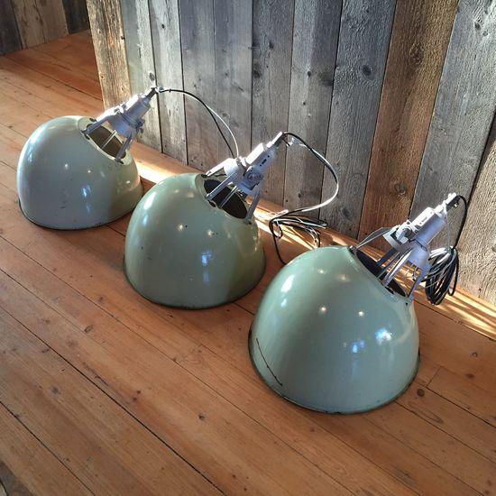 Oblique Industrilampa - ljusgrön