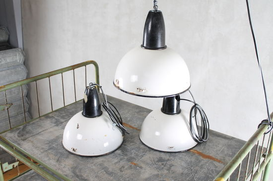 Industrial Light Sprout  - White