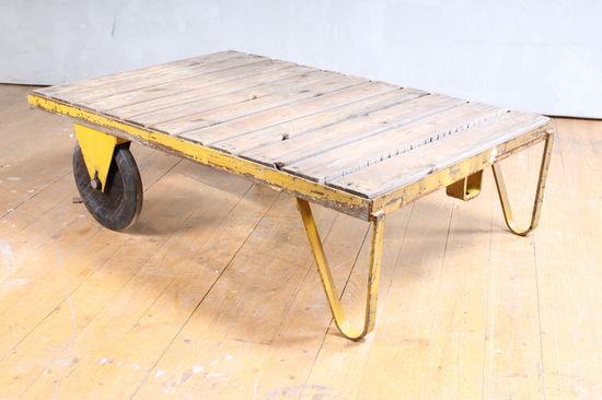 Vintage Warehouse Cart